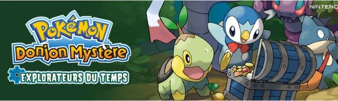 Pokémon : Donjon Mystère Explorateurs du Temps - DS