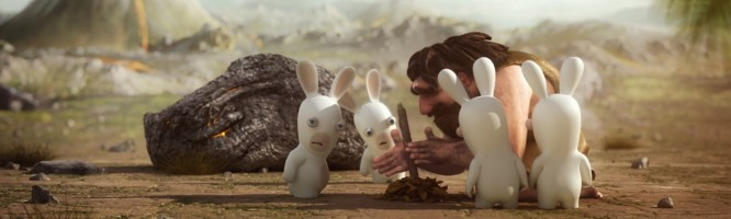 The Lapins Crétins : Retour vers le Passé - Wii