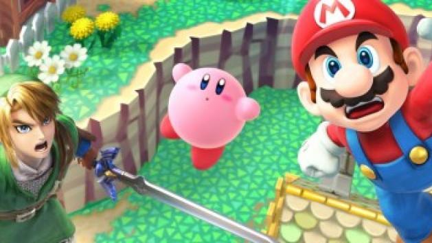 Smash Bros. Wii U prend de l'avance