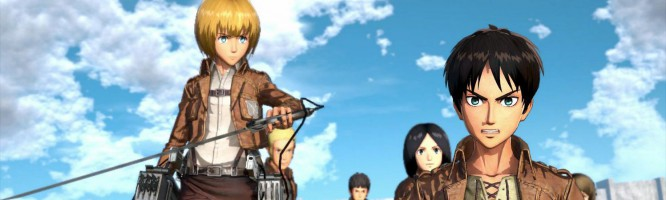 Attack On Titan : Wings of Freedom - PS4