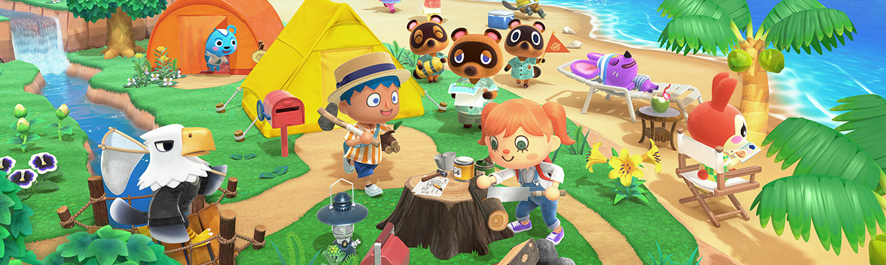 Animal Crossing : New Horizons - Nintendo Switch