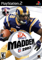 Madden NFL 2003 - PS2