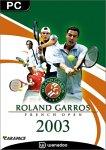 Roland Garros 2003 - PC