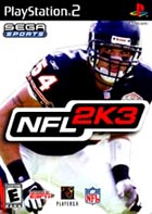 Sega Sports NFL 2K3 - PS2