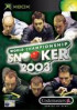 World Championship Snooker 2003 - Xbox