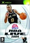 NBA Live 2004 - Xbox