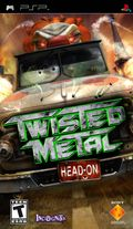Twisted Metal : Head-On - PSP