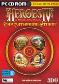 Heroes of Might and Magic IV : The Gathering Storm - PC