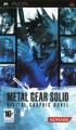 Metal Gear Solid : Digital Graphic Novel - PSP