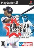 All Star Baseball 2003 - PS2