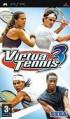 Virtua Tennis 3 - PSP