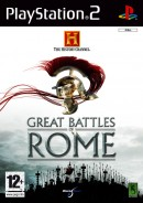 The History Channel : Great Battles of Rome - PS2