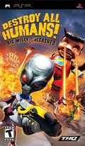 Destroy All Humans ! Lâchez le Gros Willy ! - PSP
