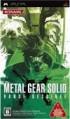 Metal Gear Solid 2 : Bande Dessinée - PSP