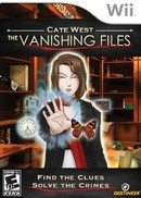 Cate West : The Vanishing Files - Wii