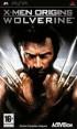 X-Men Origins : Wolverine - PSP