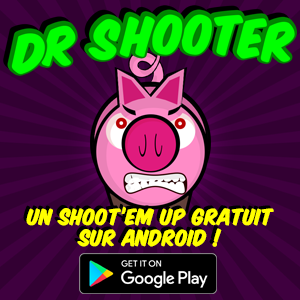Découvrez Dr Shooter, un shoot'em up pour Android entièrement gratuit !