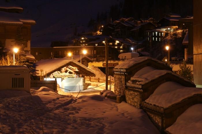 Val d'Isère sous la neige