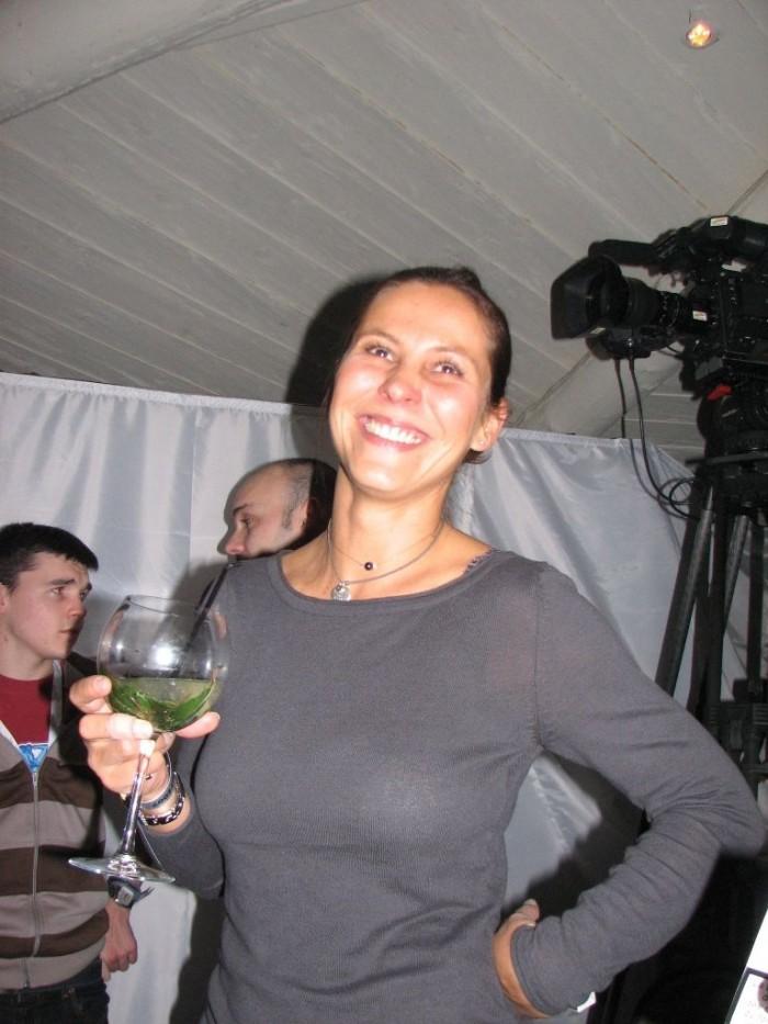 Karine, notre accompagnatrice