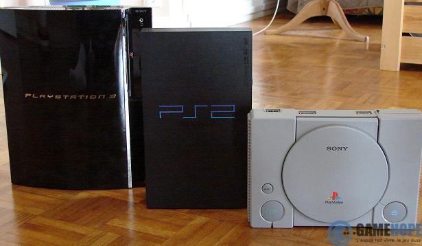 ... de consoles...