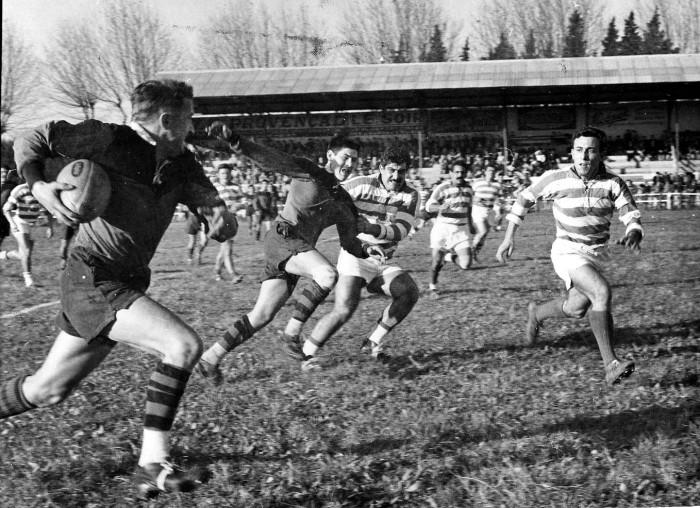 1960, La Roseraie, Rugby à 13