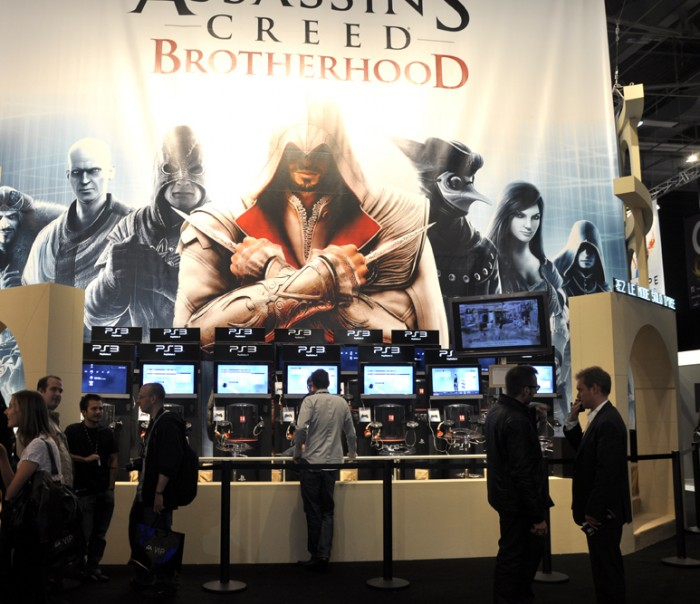 Bel espace pour Assassin's Creed Brotherhood !