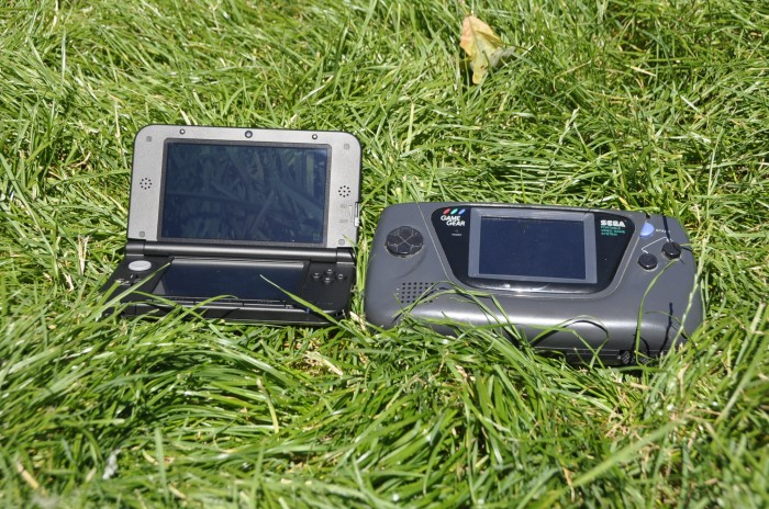 Choses sérieuses, 3DS XL Vs Game Gear