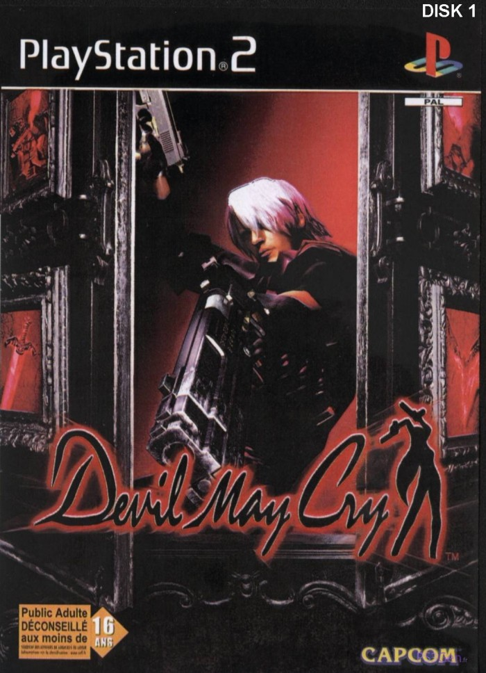 Devil May Cry sur PS2 (version française)