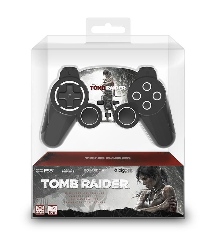 Manette sans fil licenciée Tomb Raider