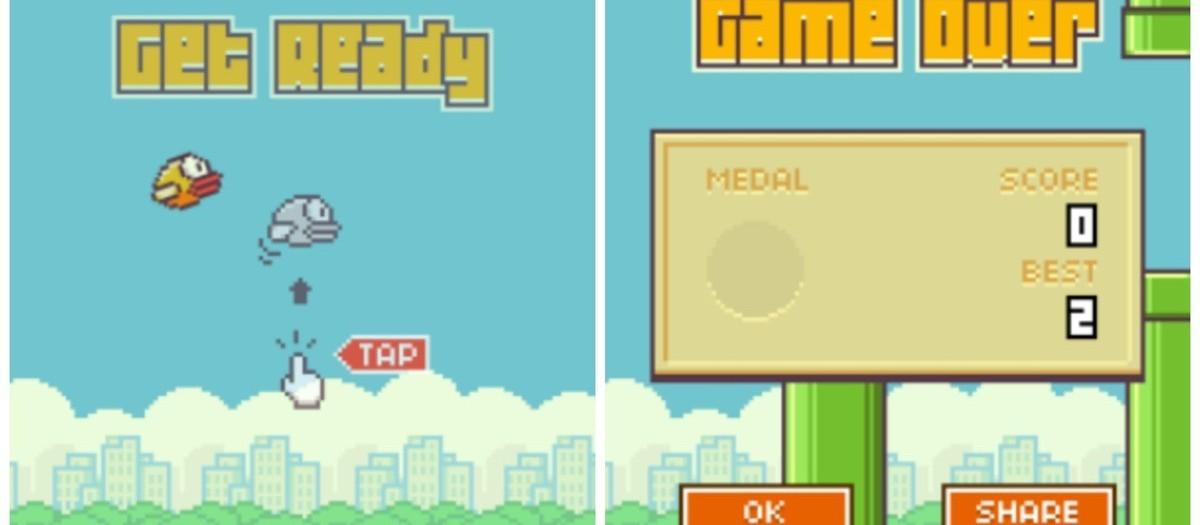 Flappy Bird : Score de 0