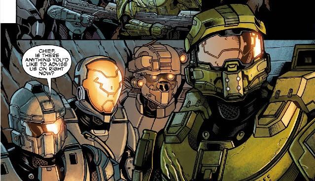 Extrait du numéro 8 d'Halo Escalation