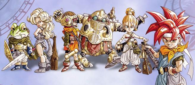 Les protagonistes de Chrono Trigger