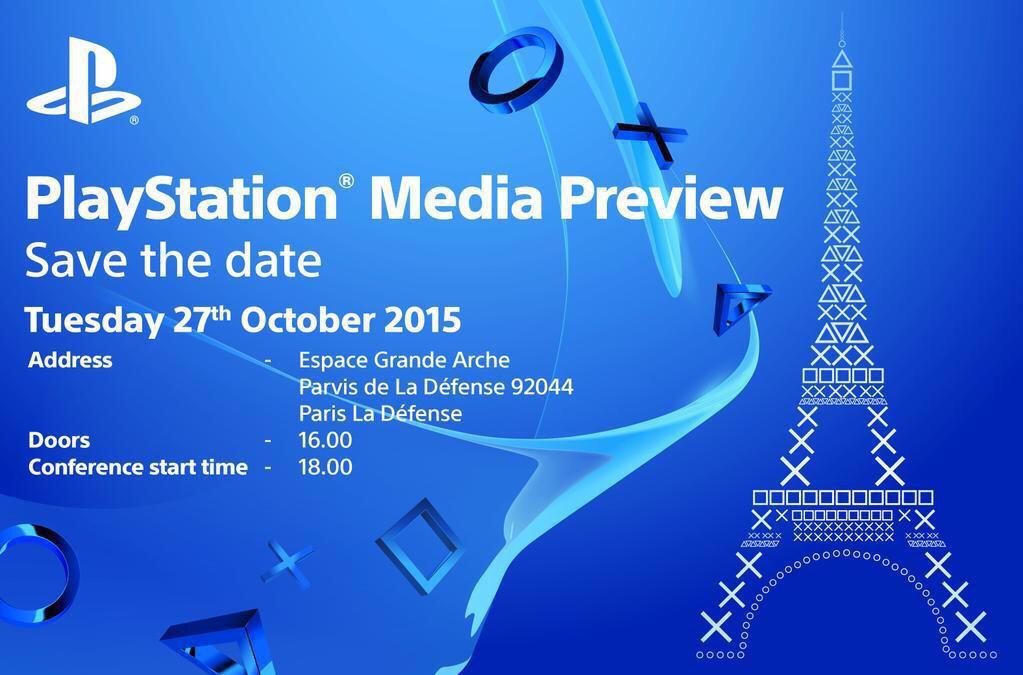 Conférence PlayStation Paris Games Week