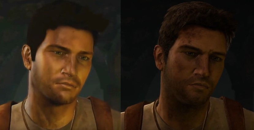 Comparaison PS3 PS4 Uncharted Drake's Fortune