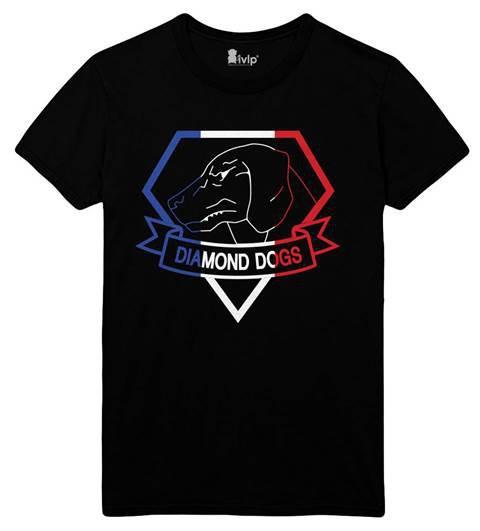 T-Shirt Diamond Dogs français