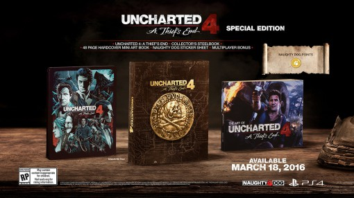 Uncharted 4 Edition Collector