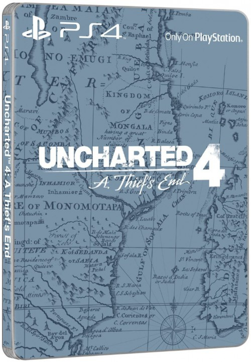 Uncharted 4 Edition Spéciale Steelbook