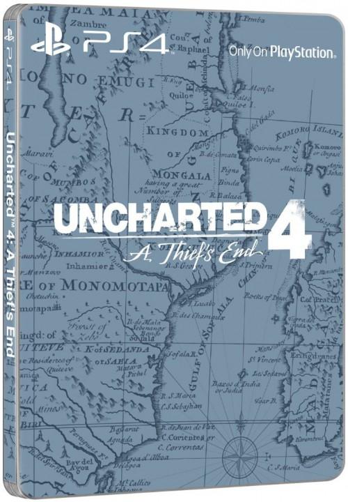 Uncharted 4 Edition Spéciale Steelbook