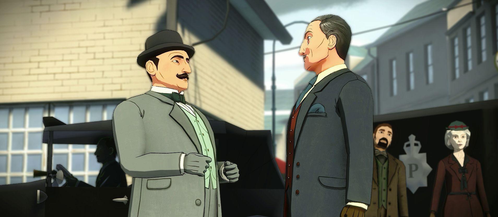 Poirot et Hatkins, son gars sûr