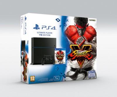 Street Fighter V bundle PS4