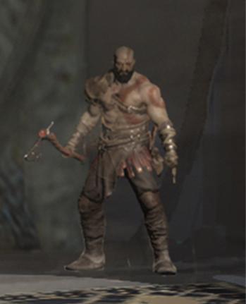 Un nouveau Kratos un peu plus barbu