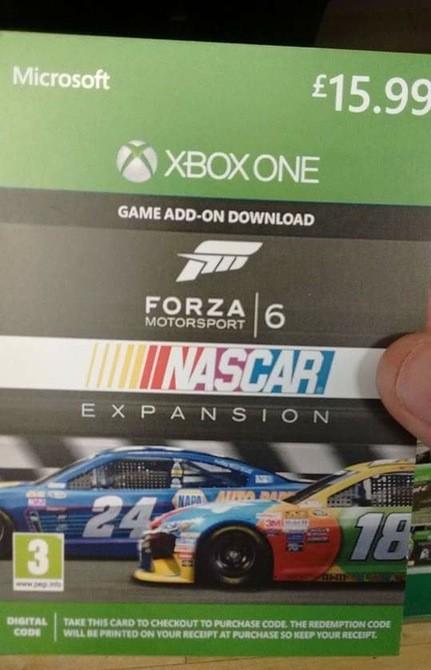 Bon de téléchargement Forza 6