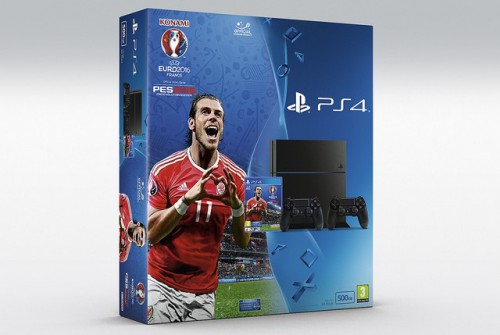 Bundle PS4 / PES EURO