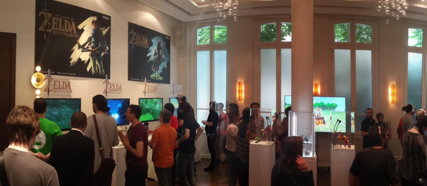 Nintendo Paris Zelda Wii U