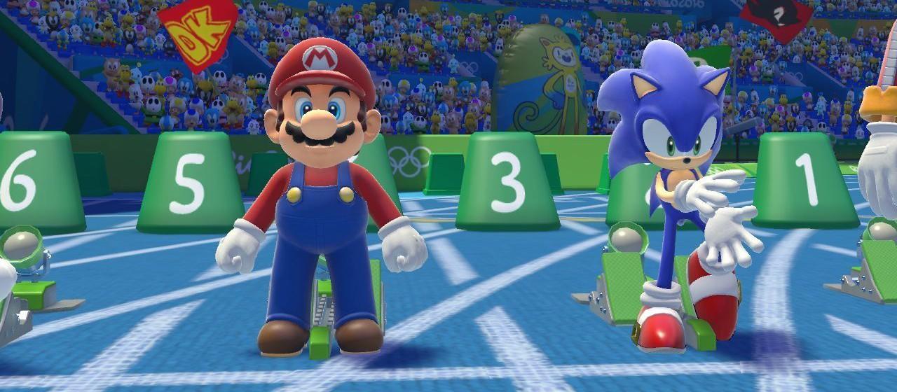 Mario & Sonic aux Jeux Olympiques de Rio 2016