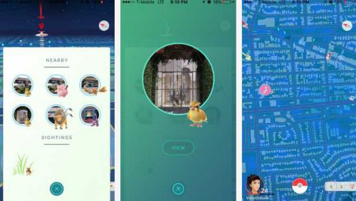 Pokémon GO radar