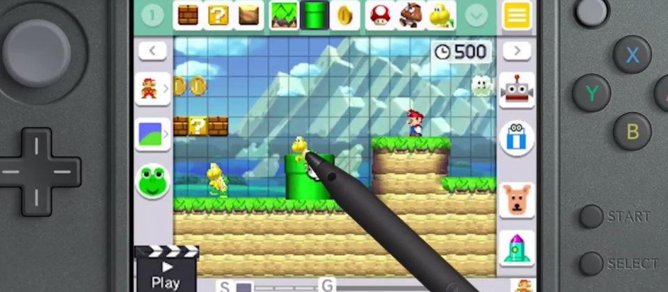 éditeur Mario Maker 3DS
