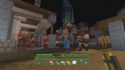 Fallout dans Minecraft