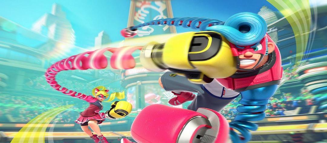 Arms, sur Nintendo Switch