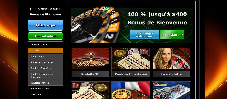 Un site de casino en ligne